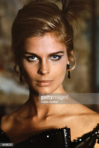 American actor and model Candice Bergen