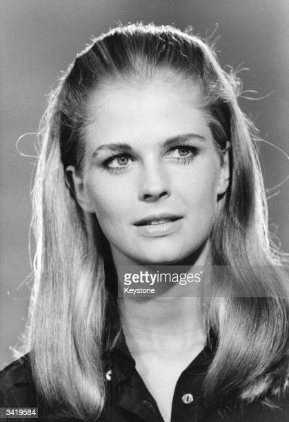 US actress and photojournalist Candice Bergen