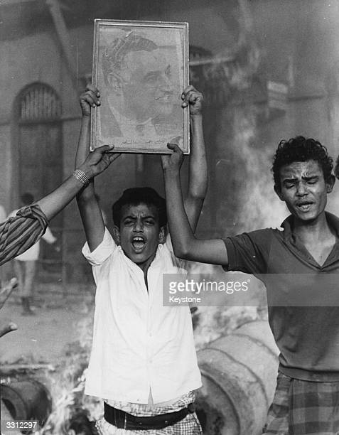 Young people in Aden demonstrating against the United Nations mission