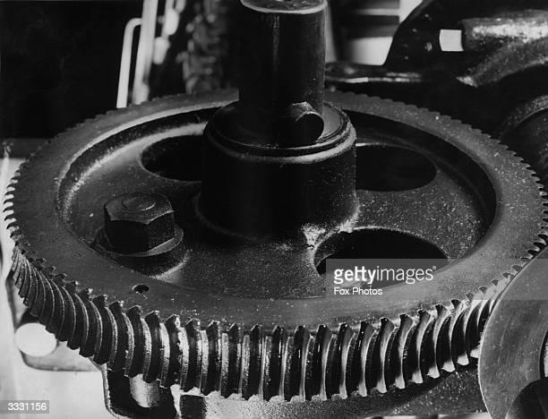 A large cog wheel