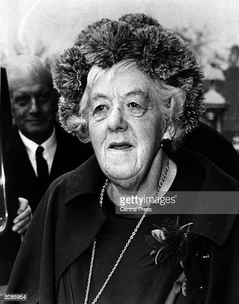 Actress Dame Margaret Rutherford