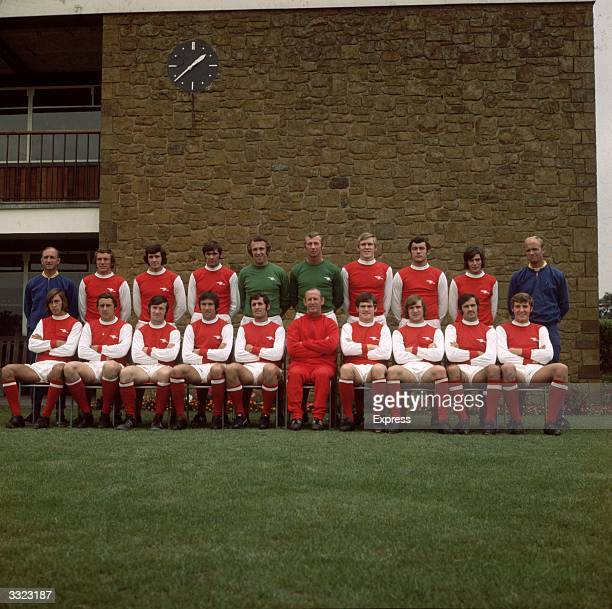 Arsenal Football Club team group