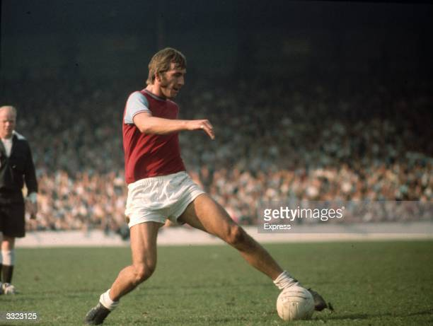 Billy Bonds in action for West Ham United