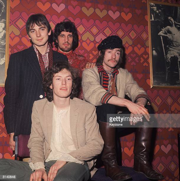 British experimental psychedelic rock group Traffic with founder member the young multiinstrumentalist Stevie Winwood Chris Wood Jim Capaldi and Dave...