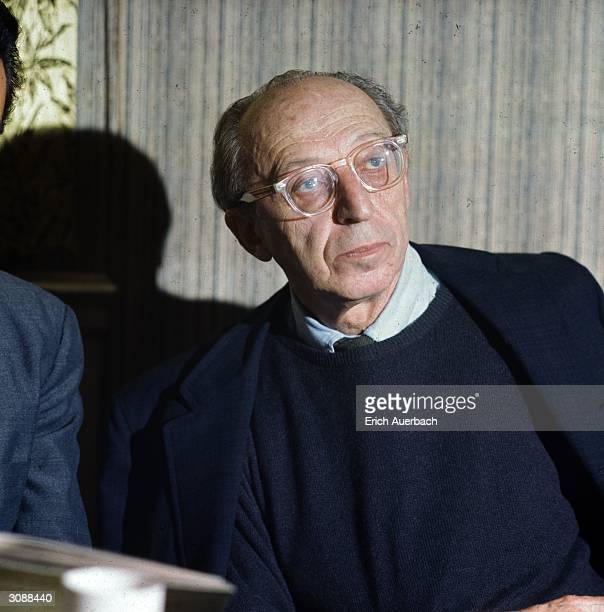 Influential American composer pianist and conductor Aaron Copland Won the Pulitzer prize for Music in 1944 Promotor of American musicTowards end of...