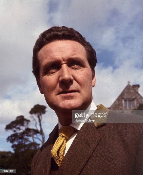 John Steed, 'The Avenger', played by actor Patrick MacNee.