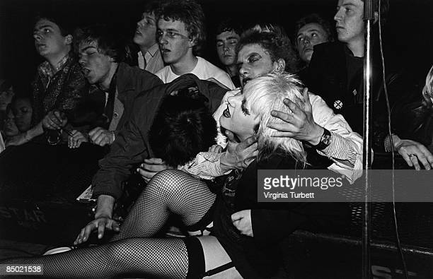 UNSPECIFIED circa 1970 Photo of CROWDS and PUNKS and AUDIENCE