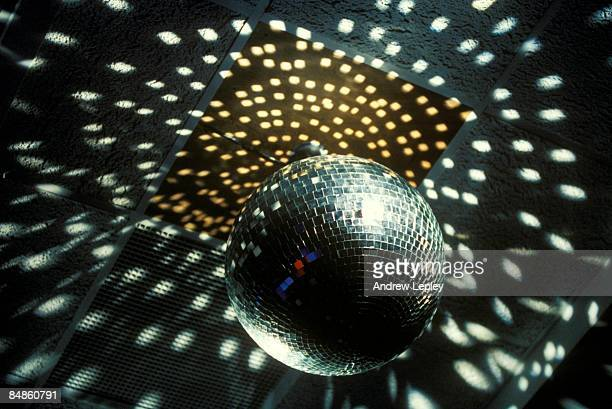 UNSPECIFIED circa 1970 Photo of DISCO and MIRROR BALL