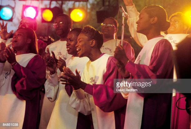 UNSPECIFIED circa 1970 Photo of GOSPEL Atlanta Super Choir