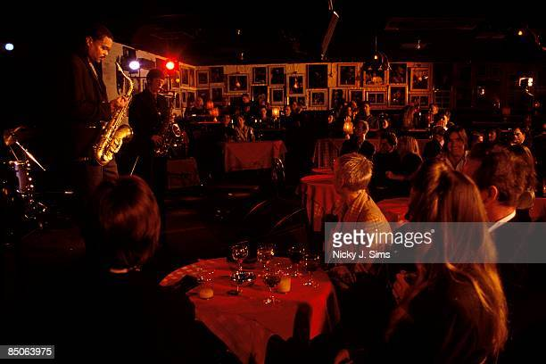 UNSPECIFIED circa 1970 Photo of JAZZ and RONNIE SCOTT'S CLUB and JAZZ CLUBS and AUDIENCE