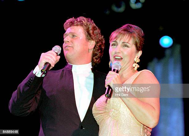 UNSPECIFIED circa 1970 Photo of Lesley GARRETT and Michael BALL with Lesley Garrett