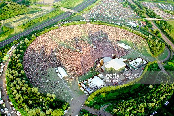 UNSPECIFIED circa 1970 Photo of MILTON KEYNES BOWL and CONCERT