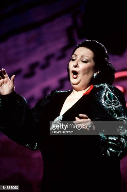 UNSPECIFIED circa 1970 Photo of Montserrat CABALLE