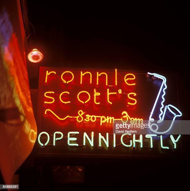 Circa 1970 RONNIE SCOTTS Photo of RONNIE SCOTT'S CLUB