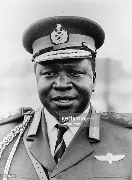 Ugandan soldier and dictator Idi Amin as commanderinchief of the army and air force