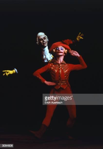 Vladimir Levashov and Vladimir Vasiliev in the Bolshoi Ballet production of 'The Nutcracker'.