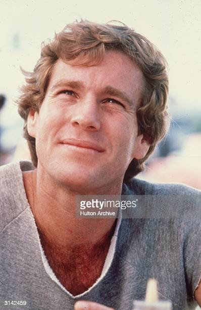 American actor Ryan O'Neal star of the 1970 tearjerker 'Love Story'