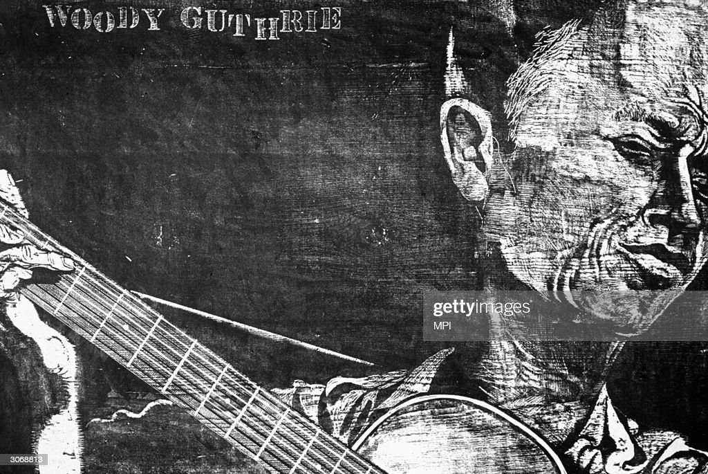 Woody Guthrie : News Photo