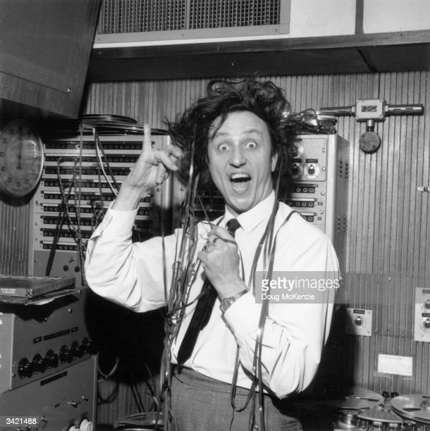 British comedian Ken Dodd in trouble in the recording studio