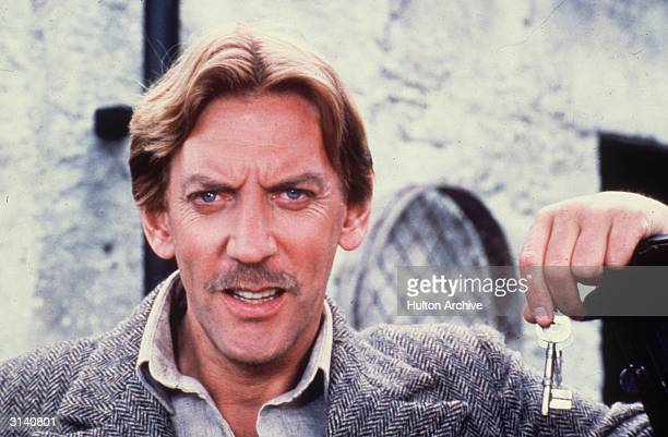 Canadian film star Donald Sutherland