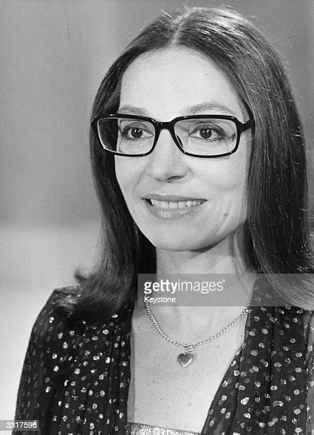 Classically and jazz trained Greek singer Nana Mouskouri who had popular hits and hosted a BBC television series in the 1970's