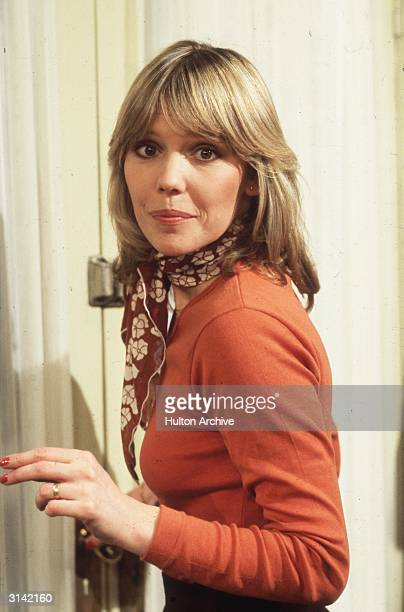 English actress Tessa Wyatt, who starred with Richard O'Sullivan in the British television comedy 'Robin's Nest'.
