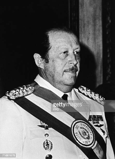 General Alfredo Stroessner who served as President of Paraguay from 1954 to 1989