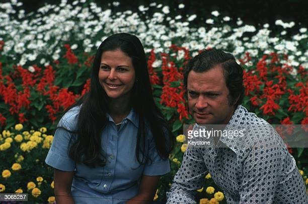 King Carl Gustav and Queen Silvia of Sweden