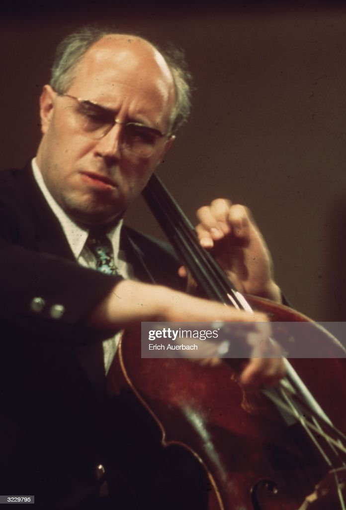 Russian cellist Mstislav Leopoldovich Rostropovich, who became conductor of the National Symphony Orchestra in Washington, DC (1977 - 1994).