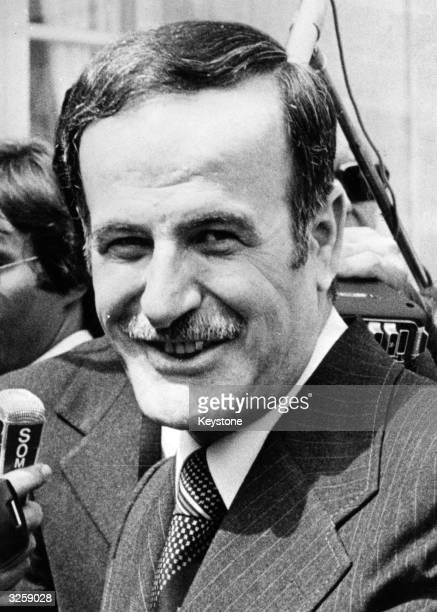 Hafez El Assad, the President of Syria.