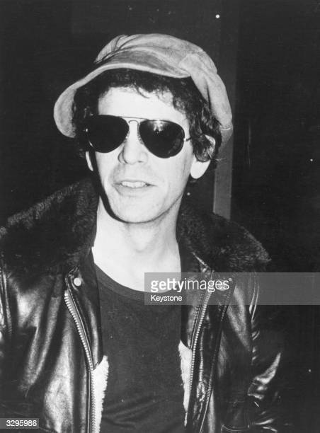 Singersongwriter Lou Reed formerly of cult groundbreaking rock 'n' roll noise group the Velvet Underground
