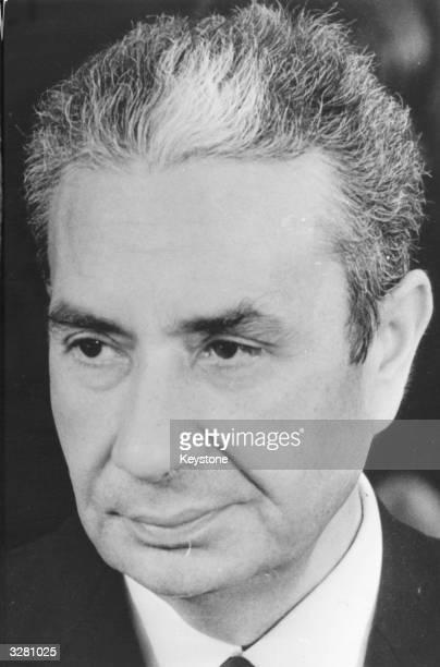 Italian politician Aldo Moro