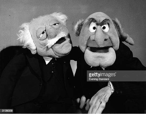 Statler and Waldorf puppet characters from the popular TV Muppet Show