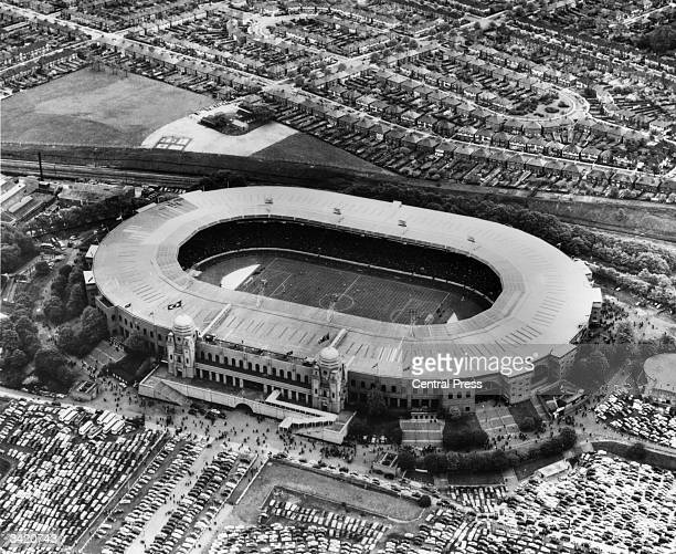 Wembley Stadium, venue for the 1966 World Cup Finals.