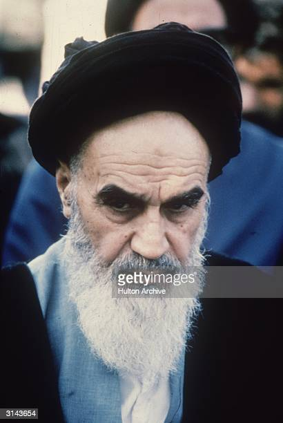 Ayatollah Ruhollah Khomeini the Iranian religious and political leader
