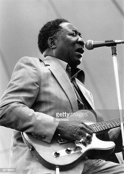 Seminal American blues singer songwriter and guitarist McKinley Morganfield better known as Muddy Waters one of the most dominant figures of postwar...