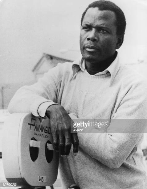 American actor Sidney Poitier Hollywood's number one black actor turns to film directing