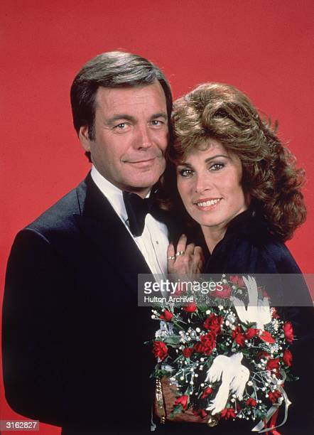 American actors Robert Wagner and Stefanie Powers the stars of the television show 'Hart to Hart'