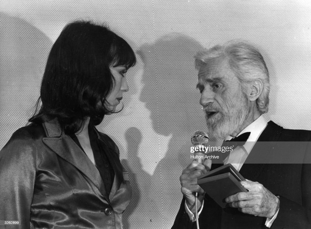 Claude Dauphin and actress Isabelle Adjani at the Theatre