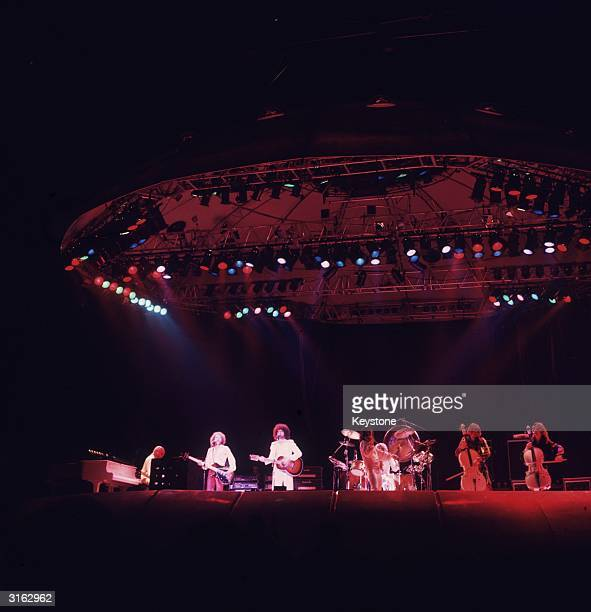 Pop group 'Electric Light Orchestra' in concert