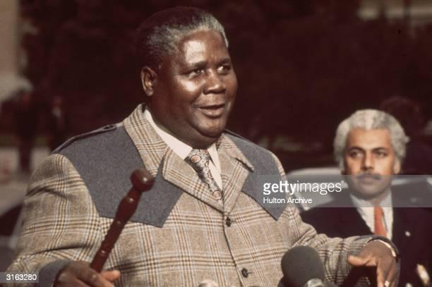 Zimbabwean nationalist leader Joshua Nkomo