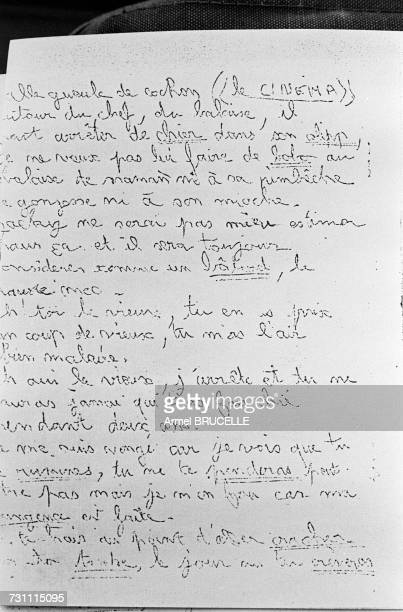 One of the anonymous threatening letters sent to JeanMarie Villemin in the years preceding the murder of his four yearold son Grégory on 16th October...