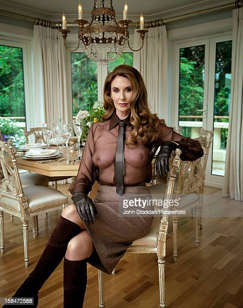 English glamour model Marilyn Cole 'Playboy' magazine's Playmate of the Year 1973 posed in 2007