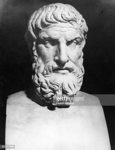 Circa 281 BC Greek philosopher Epicurus