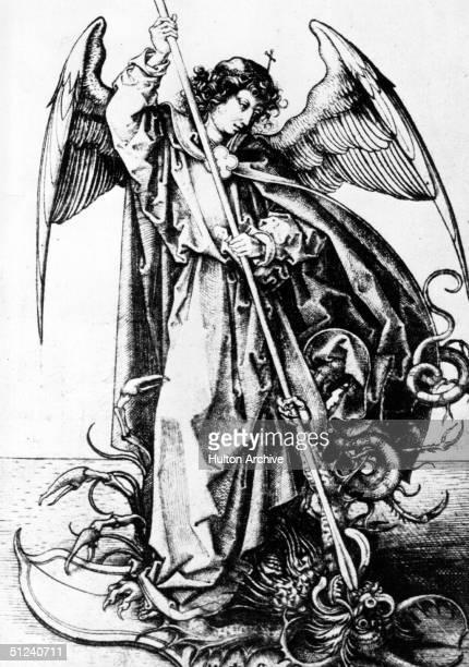 Circa 30 AD The Archangel Michael by Martin Lehanganer