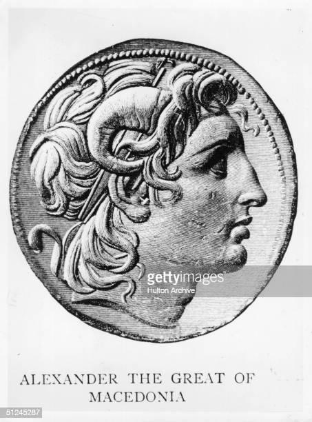 Circa 330 BC Alexander the Great king of Macedonia