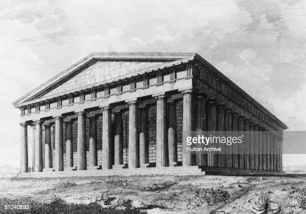 Circa 400 BC, The Parthenon in Athens.