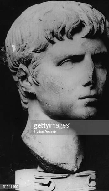 Circa 41 AD A bust of Gaius Caesar Augustus Caligula the Roman Emperor Original Artwork British Museum