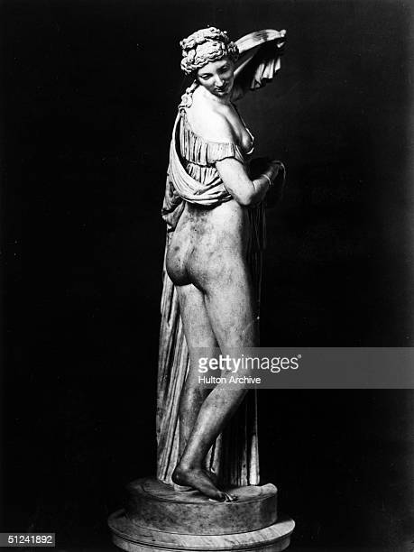 Circa 70 AD A statue of Callipygian Venus at Naples 'Callipygian' means to have shapely buttocks