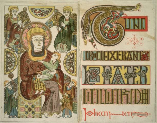 The Book Of Kells Wall Art